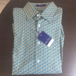 Brand new men's button down dress shirt